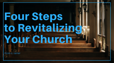four steps to revitalizing your church