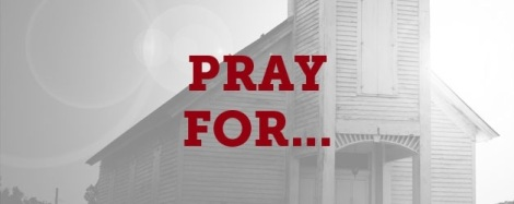Pray for our churches