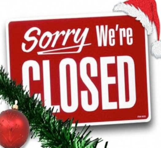 Closed-for-holidays