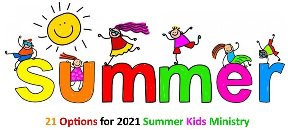 2021 Creative Summer Ideas